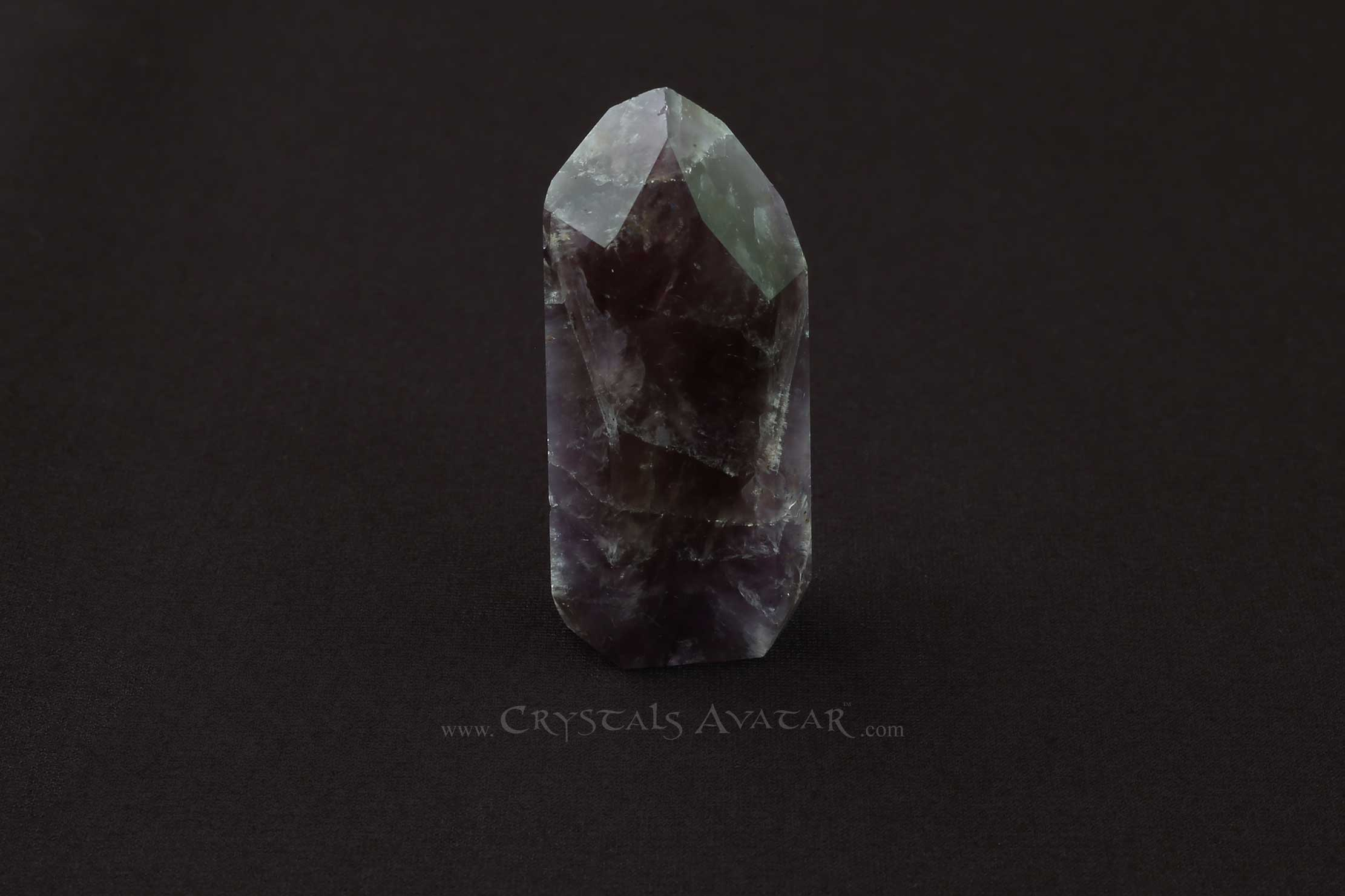 Auralite-23 Crystal, Self Standing, Single Point, Energy, Back